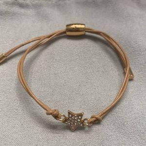 Fossil Adjustable Star Bracelet